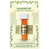 Sugarflair Tangerine Edible Blossom Tints Food Colour Colouring Dust