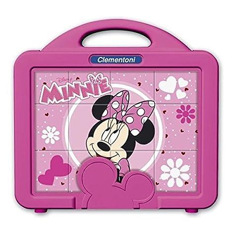 Clementoni - 41340.9 - Puzzle Baby 12 Cubes - Minnie