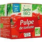 Jardin Bio - Bio-Tomatenmark-Ziegelstein 500G - Pulpe De Tomate Bio Brique 500G - Preis Pro Einheit - Schnelle Lieferung