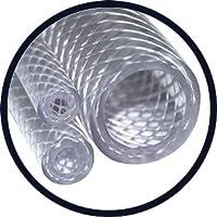 Reforzada con PVC trenzado manguera de calidad alimentaria–3/4'–19,0mm I/D x 26.0mm o/D x 3,5mm pared