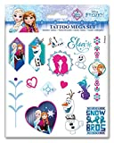 Craze 52939 - Tattoo Mega Set Disney Frozen, 3 Bögen, Sortiert