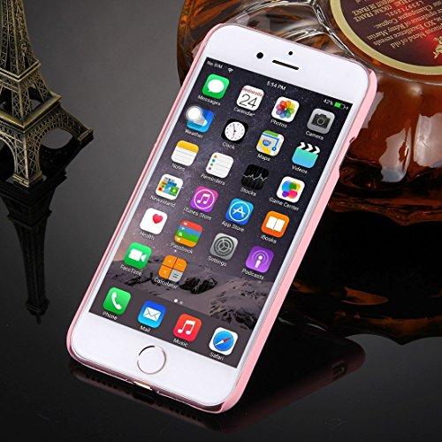 GHC Cases & Covers, Für iPhone 7 geprägtes Lotus Muster Plastik schützender rückseitiger Abdeckungs-Fall ( Color : Pink ) Pink