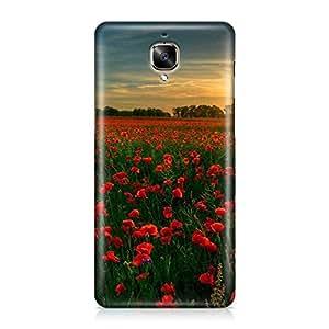 Hamee Designer Printed Hard Back Case Cover for OnePlus 3T Design 9400