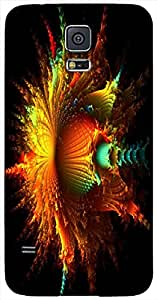 Lovely 3D multicolor printed protective REBEL mobile back cover for Samsung Galaxy S3-Mini - D.No-DEZ-1285-s5m