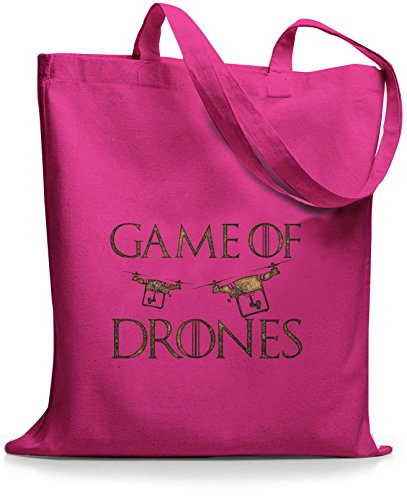 StyloBags Jutebeutel / Tasche Game of Drones Pink