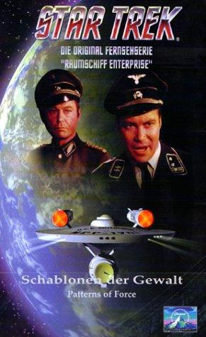Preisvergleich Produktbild Star Trek - Raumschiff Enterprise: Schablonen der Gewalt [VHS]