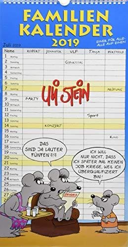 Uli Stein Familienkalender 2019 por Uli Stein