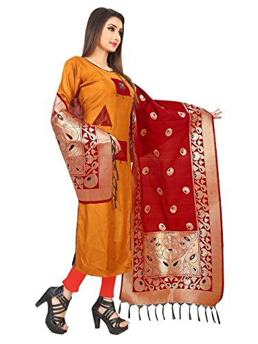 New woven Silk Banarasi Dupatta by Sparkle enterprise