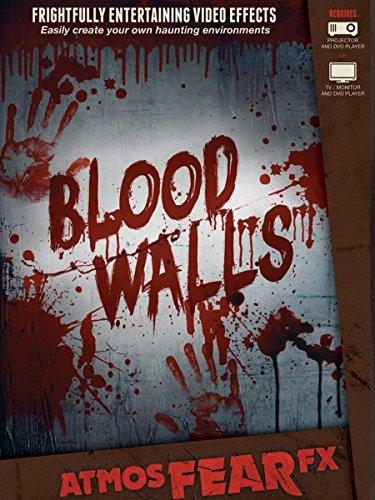 AtmosFEARfx Blood Walls Halloween Digital Decorations by AtmosFEARfx