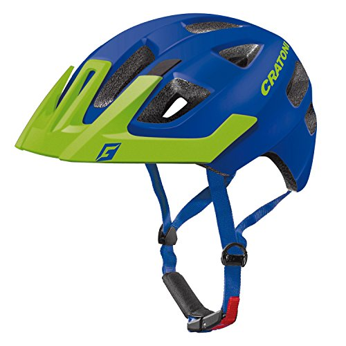 Cratoni Maxster Pro Helmet Kids blue-lime matt Kopfumfang XS/S | 46-51cm 2017 mountainbike helm downhill
