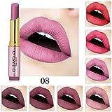 20 Colores Profesional Mate Pintalabios de Maquillaje Larga Duracion...