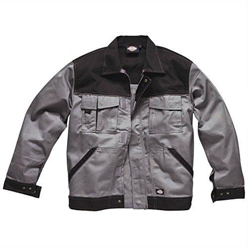 Dickies Industry 300 Twotone Work Jacket - Grey / Black - XL - Mens Two Tone Work Shirt