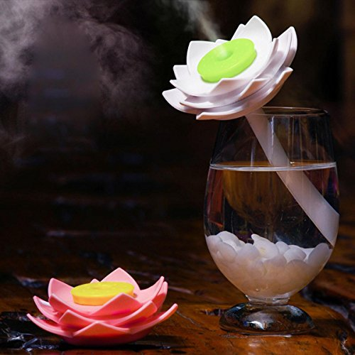 KKVV Humidificador mini creativa de Lotus