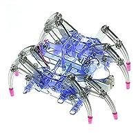 mi ji Spider Robot Kit, Physics Science kits, DIY Building Robotics Kit With User Manual -Best Education Kit for Kids