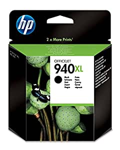 HP 940XL High Yield Black Original Ink Cartridge (C4906AE)