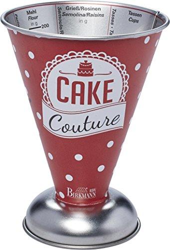RBV Birkmann Messbecher Cake Couture: Weißblech, 14cm