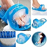 Nirva Easy Foot Cleaner Shower Slipper Easy Bath Brush/Scrubber/Waterproof Easy Foot Cleaner Shower Slipper for All Age Group