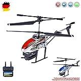 Himoto HSP RC Ferngesteuerter HD-Kamera Hubschrauber für Indoor und Outdoor, 1080p Fotos und 480p Videos, Helikopter-Modell mit 2.4GHz, Komplett-Set inkl. Li-Po Akku