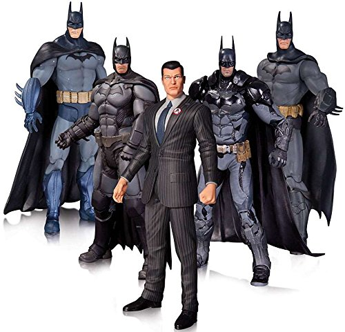 Arkham Batman Action Figure 5 Pack