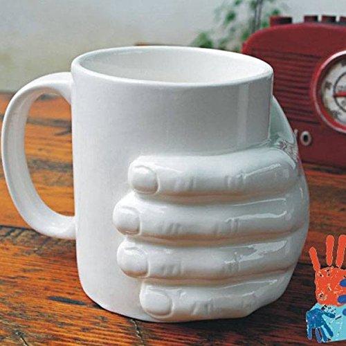 PhilMat Reichen Sie personifizierte Kaffeebechertasse des Bechers von Wasser des keramischen Kaffees
