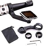 Estructura para manillar de bicicleta con soportes Holaca (31.8/25.4mm), para Polar Smart GPS, ordenadores de bicicleta V650 M450, GoPro, SJ Cam, Sony, Garmin VIRB X y XE, color 6-in-1 Pack for Polar GPS