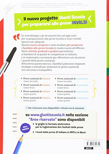 Prove nazionali di italiano. Un nuovo modo di prepararsi alle prove INVALSI: 5