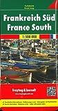 Francia sur, mapa de cerreteras. Escala 1:500.000. Freytag & Berndt. (Auto karte)