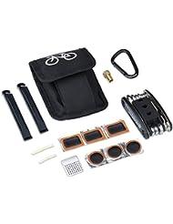 Meersee kit de reparación de bicicletas multifunción set de herramientas y utensilios para bici Multi Herramienta Set de Reparación y Mantenimiento de Pinchazos (Pegamento no incluido)