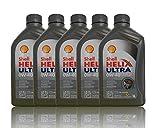 [?5,99/1L] 5x1L SHELL HELIX ULTRA 0W40 MOTORÖL 0W-40 MOTOREN ÖL OEL OIL