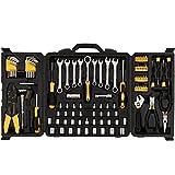 COOCHEER Werkzeugkoffer 108-teiliger Universal Handwerkzeug Werkzeug-Set Werkzeugkiste Werkzeugbox Komplett mit Werkzeug