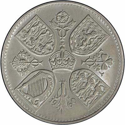 Royal Mint Gedenkmünze Kronen des Vereinigten Königreichs: 1960 -