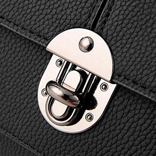 Damen Tasche Einfach Wilde Umhängetasche Handtasche Sommer Kleine Quadratische Tasche Mode Umhängetasche,LightGray RubberRed