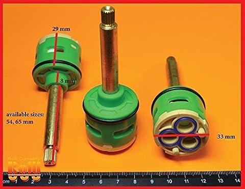 Inverseur Melangeur De Douche - 3 positions Cartouche céramique pour inverseur mélangeur