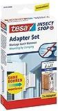 tesa Fliegengitter Adapter-Set für ALU-Türen, anthrazit