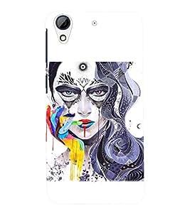 PRINTSWAG GIRL ART Designer Back Cover Case for HTC DESIRE 626G+