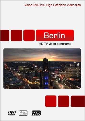 BIG-VIEW Berlin HD-TV Video-Panorama (Video DVD & MP4 HD) (Mp4-videos)