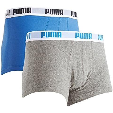 PUMA Puma Basic Shortboxer 2p - Bóxer para hombre