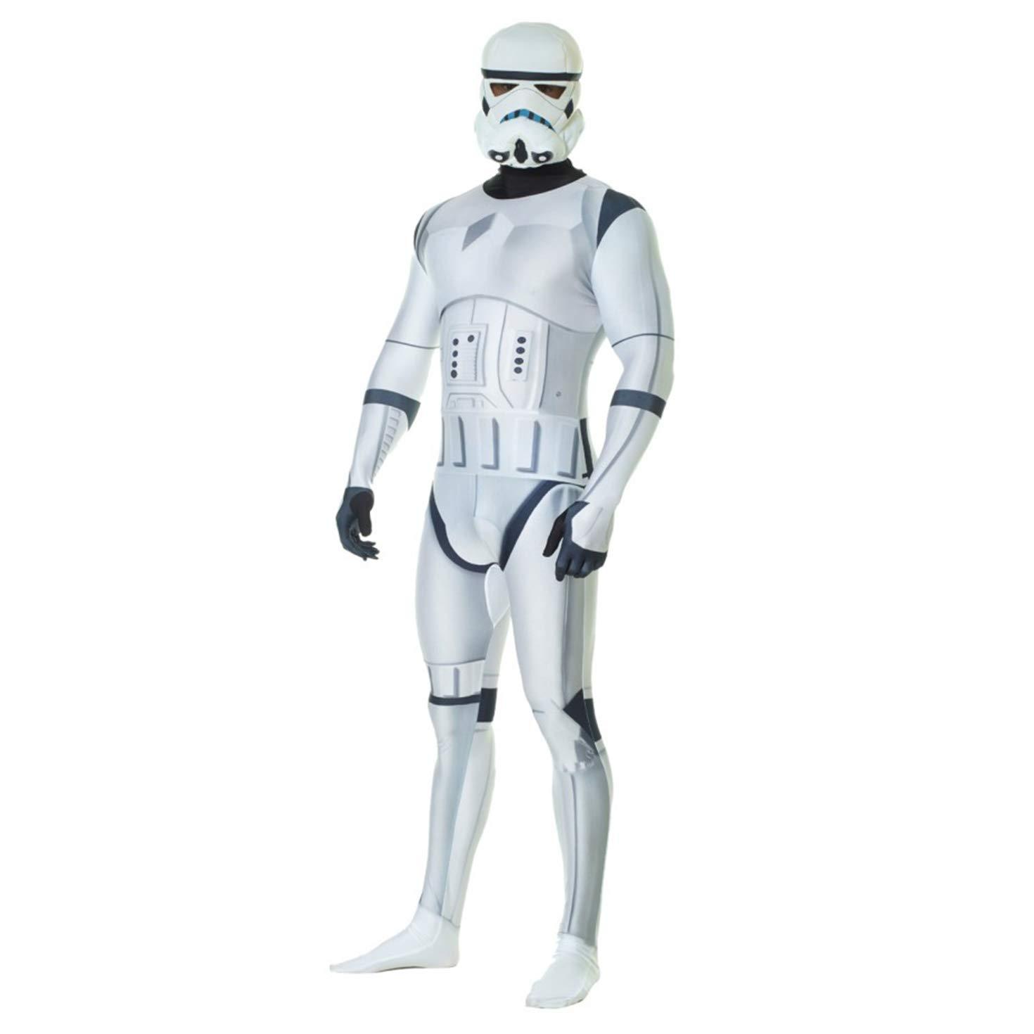 Morphsuits – Disfraz para adulto, diseño Stormtrooper de Star Wars, talla L (MLZSTL)