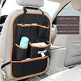 ZLLZM 1 Pcs Auto Rückenlehnenschutz Auto Rücksitz Organizer, Wasserfester Autositz Rückenschutz, Kick-Matten-Schutz in Universeller Passform