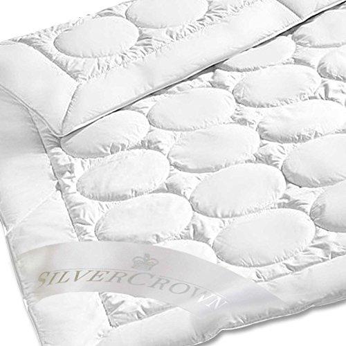 Brinkhaus-Silvercrown Leichtsteppbett Naturhaar/Faser Kaschmirhaar weiß Größe 155x200 cm