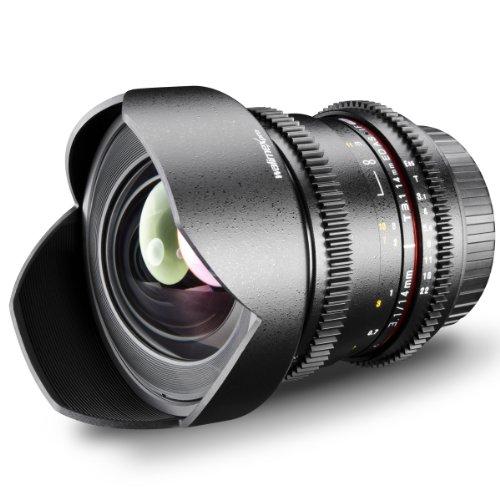 Walimex Pro 14mm 1:3,1 VCSC Foto- und Videoobjektiv für Sony E-Mount Objektivbajonett sch