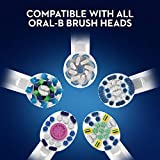 Oral-B Pro 2000 CrossAction Electric Toothbrush Rechargeable Powered by Braun, 1 Handle, 2 Modes with Gum Care, Pressure Sensor, 1 Toothbrush Head, 2 Pin UK Plug