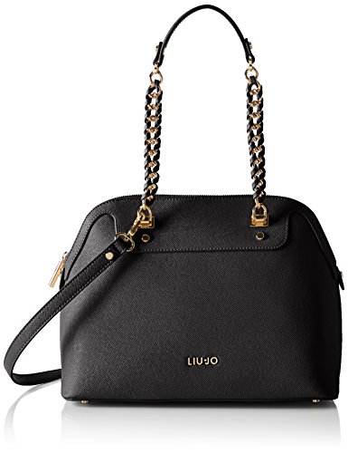 LIU JO ANNA SHOPPING BAG A66001E0087-22222 Black
