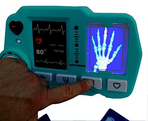 ⛑ Spielzeug EKG – und Röntgen Gerät mit realistischer Funktion- darf in keinem Spielzeug Arztkoffer fehlen ⛑ - 3
