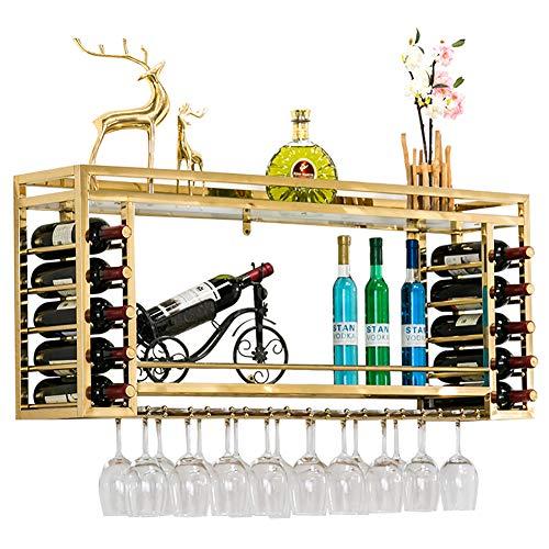 Decke Rack, Ständer (Decke Weinregale Weinglas Rack, Moderner Stil Weinglashalter Champagner Glas Rack Glaswaren Rack Decke Weinhalter Für Bars Restaurants Küchen)