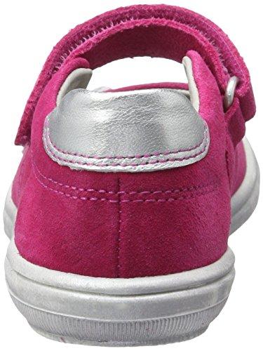 Richter Kinderschuhe Dandi, Ballerines fille Pink (fuchsia/silver/pink)