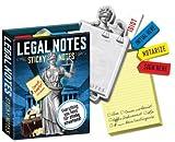 Notas adhesivas–UPG–Legal notas papelería Memo Pad nuevos juguetes 2210