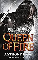 Queen of Fire: Book 3 of Raven's Shadow by Anthony Ryan (2016-02-11)