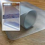 Floortex Bodenschutzmatte | Bürostuhlunterlage Long&Strong | 120 x 550 cm | aus phtalatfreiem Vinyl | transparent | rechteckig | für Harte Böden