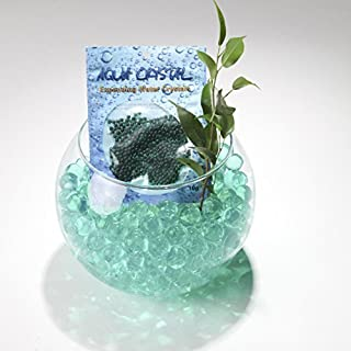 Aqua Crystal Expanding Water Storing Gel Bead Crystals - DARK GREEN - 100g